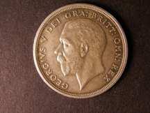 London Coins : A124 : Lot 212 : Crown 1931 ESC 371 Good EF two carbon spots reverse in the wreath