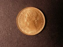 London Coins : A124 : Lot 313 : Farthing 1883 Freeman 551 dies 7+F UNC with almost full lustre