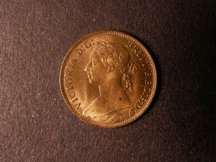 London Coins : A124 : Lot 317 : Farthing 1895 Bun Head Freeman 570 dies 7+F Lustrous UNC very rare in this high grade