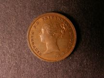 London Coins : A124 : Lot 424 : Half Farthing 1868 Bronze Proof Peck 1605 nFDC with some lustre, Very Rare