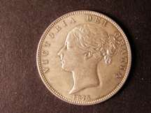 London Coins : A124 : Lot 443 : Halfcrown 1875 ESC 696 Lustrous AU/UNC with some lustre on the reverse