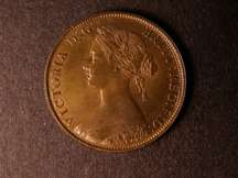 London Coins : A124 : Lot 554 : Halfpenny 1862 Bronze Proof Freeman 290 dies 7+G Lustrous nFDC