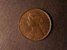 London Coins : A124 : Lot 562 : Halfpenny 1864 Freeman 295 dies 7+G AU/UNC with traces of lustre