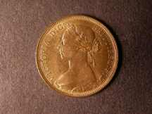 London Coins : A124 : Lot 605 : Halfpenny 1884 Freeman 352 dies 17+S Lustrous UNC with a small tone spot on the obverse rim