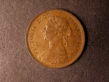 London Coins : A124 : Lot 610 : Halfpenny 1890 Bronze Proof Freeman 363 dies 17+S nFDC with some lustre, Very Rare
