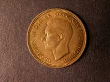 London Coins : A124 : Lot 626 : Halfpenny 1942 Bronze Proof Freeman 442 dies 1+H nFDC with some lustre