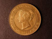 London Coins : A124 : Lot 664 : Penny 1857 Decimal Pattern Peck 1968 Freeman 674 in Bronze 32mm diameter Obverse VICTORIA D:G&#5...