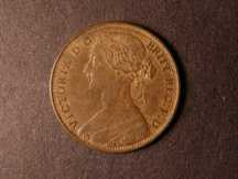 London Coins : A124 : Lot 706 : Penny 1865 Freeman 50 dies 6+G A/UNC with traces of lustre and a few small edge nicks