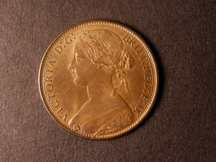 London Coins : A124 : Lot 713 : Penny 1870 Freeman 60 dies 6+G A/UNC with traces of lustre