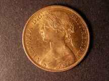 London Coins : A124 : Lot 718 : Penny 1872 Freeman 62 dies 6+G UNC with almost full lustre