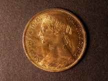 London Coins : A124 : Lot 724 : Penny 1874 Freeman 70 dies 7+G UNC with about 75% lustre