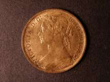 London Coins : A124 : Lot 727 : Penny 1874 Freeman 72 dies 7+H UNC with about 70% lustre slightly uneven