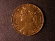 London Coins : A124 : Lot 732 : Penny 1875 Freeman 79 dies 8+G UNC with about 75% lustre, very rare in high grade