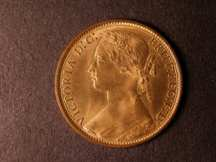 London Coins : A124 : Lot 740 : Penny 1876H Freeman 89 dies 8+K UNC with almost full lustre