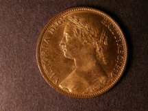 London Coins : A124 : Lot 743 : Penny 1878 Freeman 94 dies 8+J UNC with almost full lustre the reverse with proof-like fields