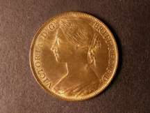 London Coins : A124 : Lot 753 : Penny 1882H Freeman 114 dies 12+M A/UNC with lustre
