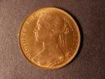 London Coins : A124 : Lot 755 : Penny 1882H Freeman 115 dies 12+N UNC with lustre