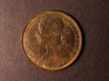 London Coins : A124 : Lot 760 : Penny 1884 Freeman 119 dies 12+N UNC with traces of lustre