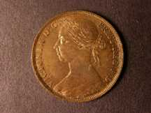 London Coins : A124 : Lot 774 : Penny 1891 possibly from Proof dies 12+N Lustrous possibly once cleaned with some edge and surface n...