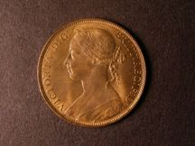 London Coins : A124 : Lot 776 : Penny 1892 Freeman 134 dies 12+N UNC with good lustre