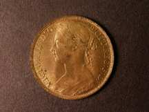 London Coins : A124 : Lot 778 : Penny 1893 Freeman 136 dies 12+N Lustrous UNC with some toning spots on the obverse