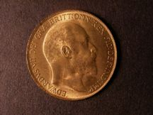 London Coins : A124 : Lot 812 : Penny 1908 Freeman 166 dies 2+D UNC with good lustre