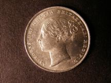 London Coins : A124 : Lot 857 : Shilling 1842 ESC 1288 Lustrous A/UNC with minor contact marks