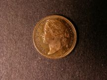London Coins : A124 : Lot 968 : Third Farthing 1868 Bronze Proof Peck 1929 nFDC with some toning on the obverse
