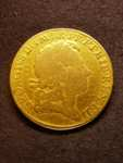 London Coins : A125 : Lot 1010 : Guinea 1716 Fourth Bust S.3631 VG/NF