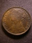 London Coins : A125 : Lot 1065 : Penny 1881 Freeman 102 dies 9+J VF