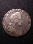 London Coins : A125 : Lot 1072 : Shilling 1723 SSC Second Bust ESC 1178 NVF