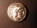 London Coins : A125 : Lot 653 : Macedonia, 336-323 BC. Alexander III silver tetradrachm life time issue. Head of Herakles, R...