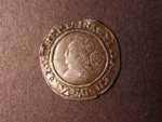 London Coins : A125 : Lot 769 : Sixpence Elizabeth 1565 mint mark rose. Good fine.