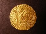 London Coins : A125 : Lot 792 : France, Charles VI (1380-1422) gold Ecu a la Couronne, crowned shield, R. cross fleury. ...