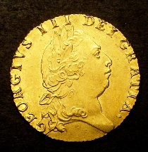 London Coins : A126 : Lot 1067 : Guinea 1793 S.3729 GEF scarce thus