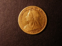London Coins : A126 : Lot 1109 : Half Sovereign 1898 Marsh 493 Fine