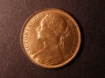 London Coins : A126 : Lot 1332 : Penny 1881H Freeman 108 dies 11+M Lustrous GEF/AU