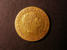 London Coins : A126 : Lot 1483 : Sovereign 1820 with space between 18 and 20, the 0 of the date being double struck, listed a...