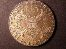 London Coins : A126 : Lot 574 : Spanish Netherlands (Brabant) 1709 KM#133 EF or near so with some very light haymarking, and sca...