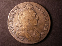 London Coins : A126 : Lot 895 : Crown 1695 OCTAVO ESC 87 Near Fine