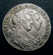 London Coins : A127 : Lot 1541 : Halfcrown 1689 Second Shield Caul only Frosted, with pearls, ESC 510 EF with some light adju...