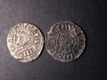 London Coins : A129 : Lot 1086 : Penny. Henry III Long cross. Class Vb, Willem on cant and another class Vc.  Henry on lunde. F-V...