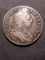London Coins : A129 : Lot 1148 : Crown 1696 OCTAVO ESC 89 About Fine