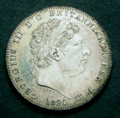 London Coins : A129 : Lot 1177 : Crown 1820 LX ESC 219 NEF toned with some contact marks