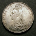 London Coins : A129 : Lot 1197 : Crown 1888 ESC 298 Narrow Date AU/GEF and nicely toned