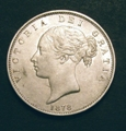 London Coins : A129 : Lot 1471 : Halfcrown 1878 ESC 701 EF with a few light contact marks on the obverse