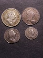 London Coins : A129 : Lot 1605 : Maundy Set 1780 ESC 2416 VF-GEF