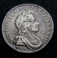 London Coins : A129 : Lot 1750 : Shilling 1723 WCC ESC 1180 NVF/VF with even grey toning, Very Rare