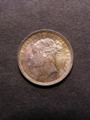 London Coins : A129 : Lot 1888 : Sixpence 1883 ESC 1744 A/UNC and nicely toned