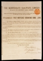 London Coins : A129 : Lot 72 : Italy, Monferrato Railways Ltd., 6 x £100 mortgage debenture bonds, all 1887, ...
